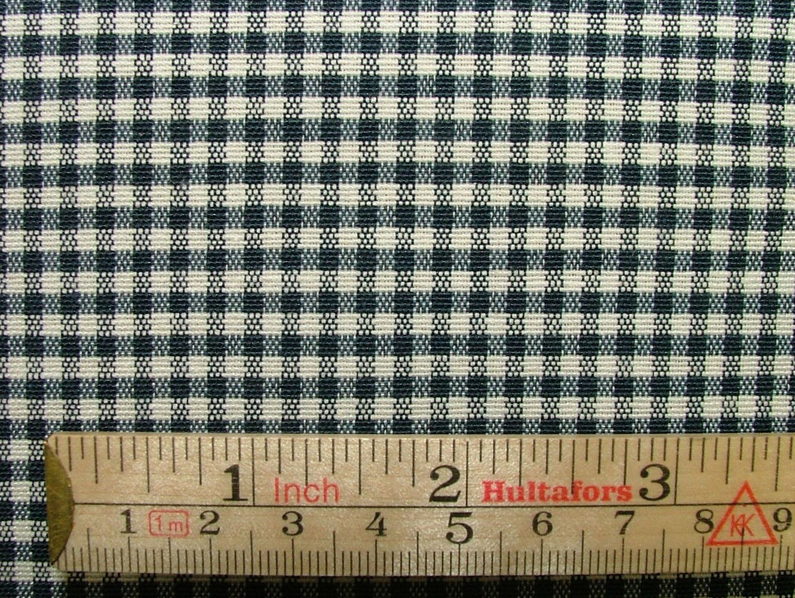 Prestigious Textiles Navy Blue Gingham Curtain Soft